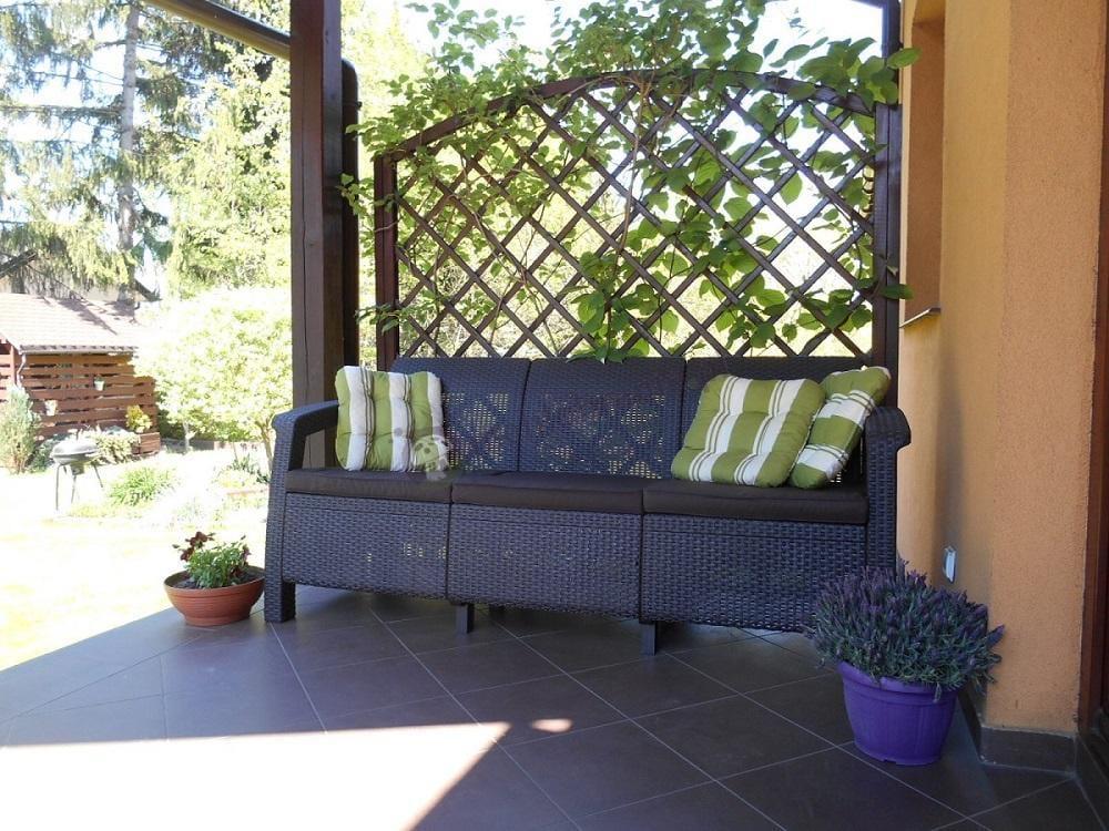 Sofa technorattanowa Corfu Love Seat Max