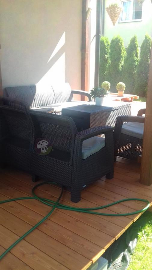 Sofa technorattanowa Corfu Love Seat Max i dwa fotele