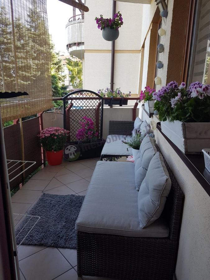Sofy balkonowe technorattan w niskiej cenie Canvas Caffe