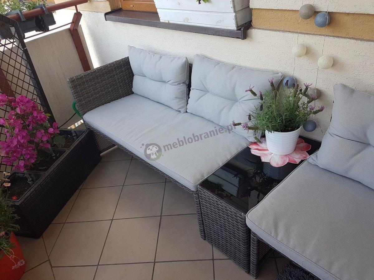 Sofy ogrodowe na balkon Canvas Caffe w przystępnej cenie