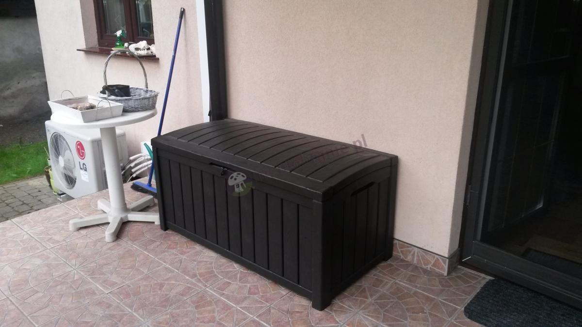 Solidna skrzynia ogrodowa Keter Glenwood Box 390L