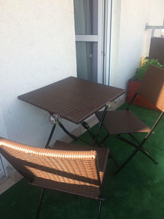 Stół 2 krzesła na balkon z technorattanu Smart