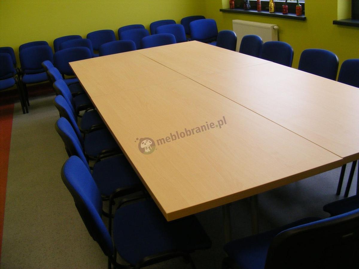 Stół konferencyjny rozkładany o wymiarach 180x80cm
