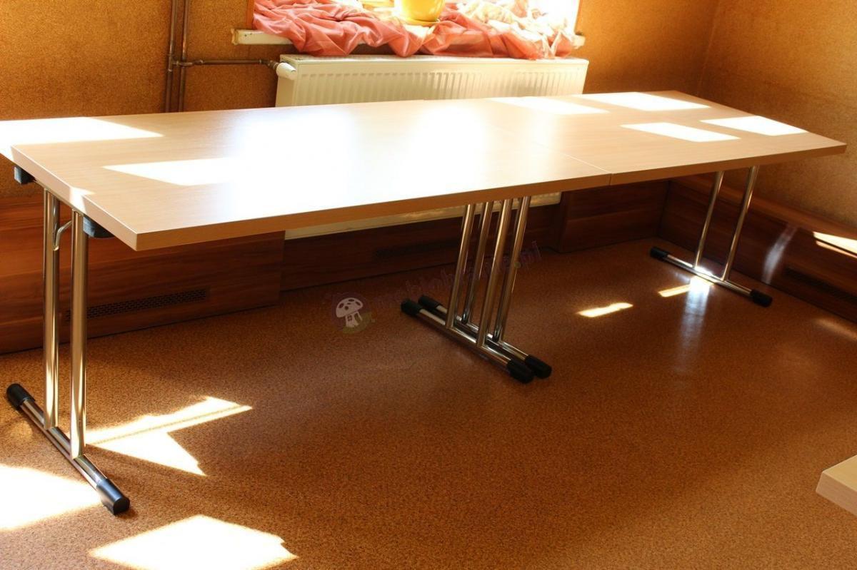 Stół konferencyjny z rur stalowych VIP