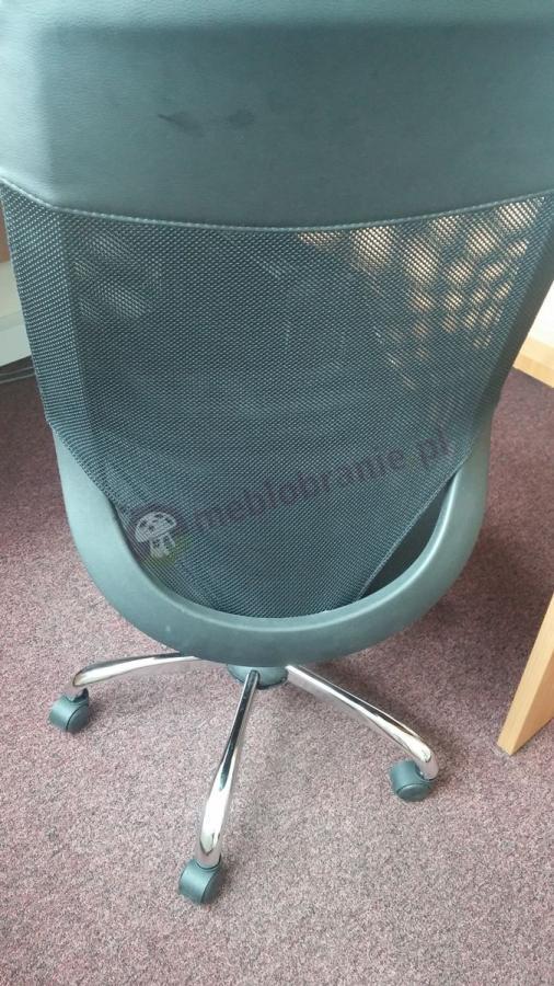 Stylowe czarne krzesło obrotowe Mobi Plus