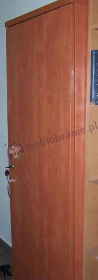 Szafa biurowa z zamkiem kolor calvados