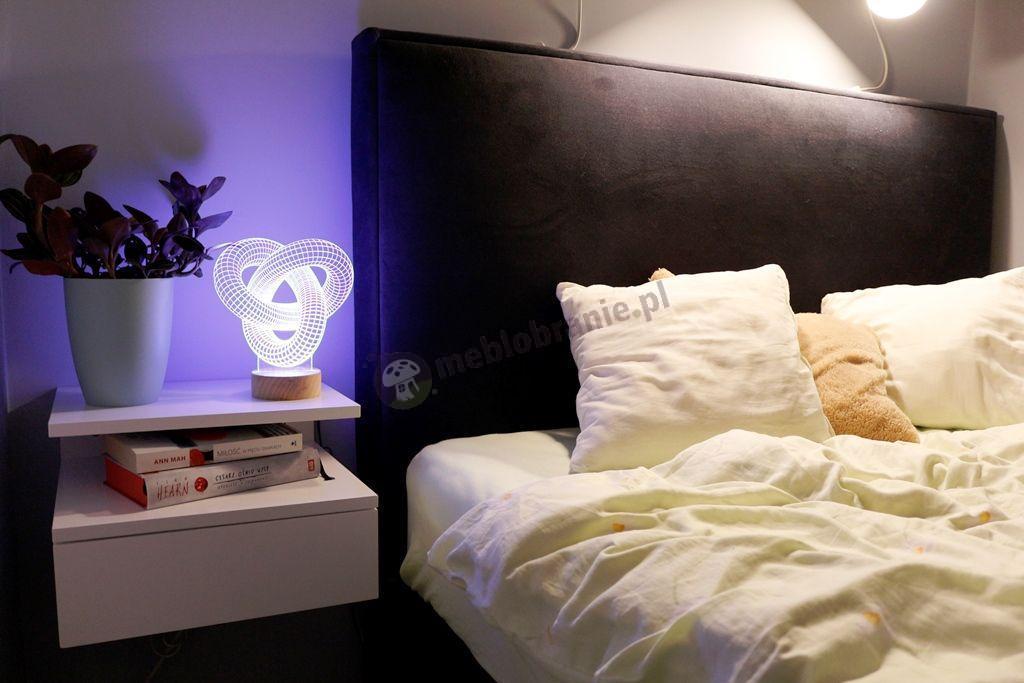 Szafka do sypialni Actona Ashlan biała