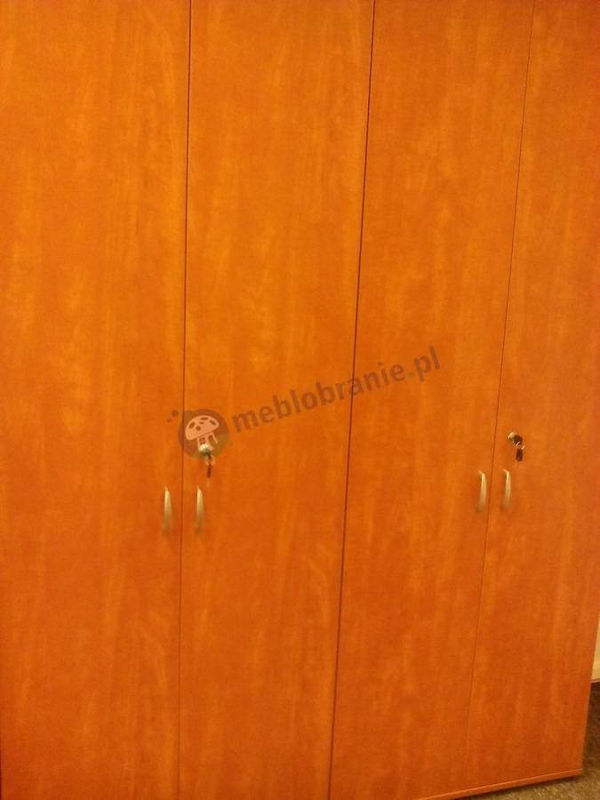 Szafy biurowe Svenbox H61 w kolorze calvados