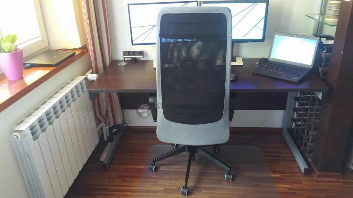 Szerokie biurko gabinetowe Mbr B-4 160 cm