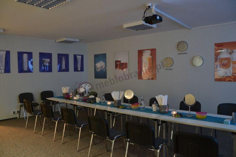 Tani stół na konferencje bankietowy składany 120x80 cm