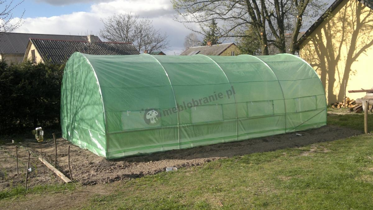 Tani tunel foliowy 6x3 m ze stelażem metalowym Focus garden