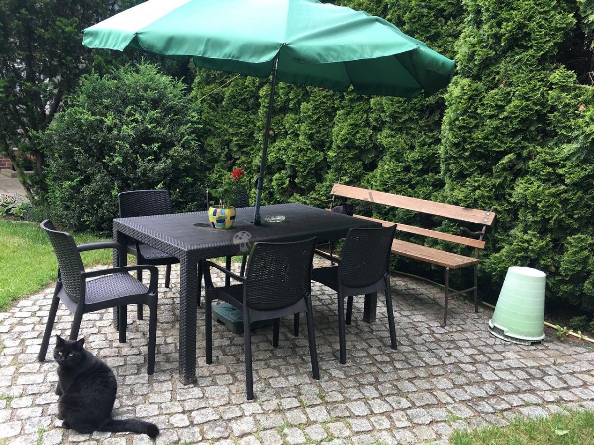 Tani zestaw ogrodowy z sześcioma krzesłami Corfu Melody 6B