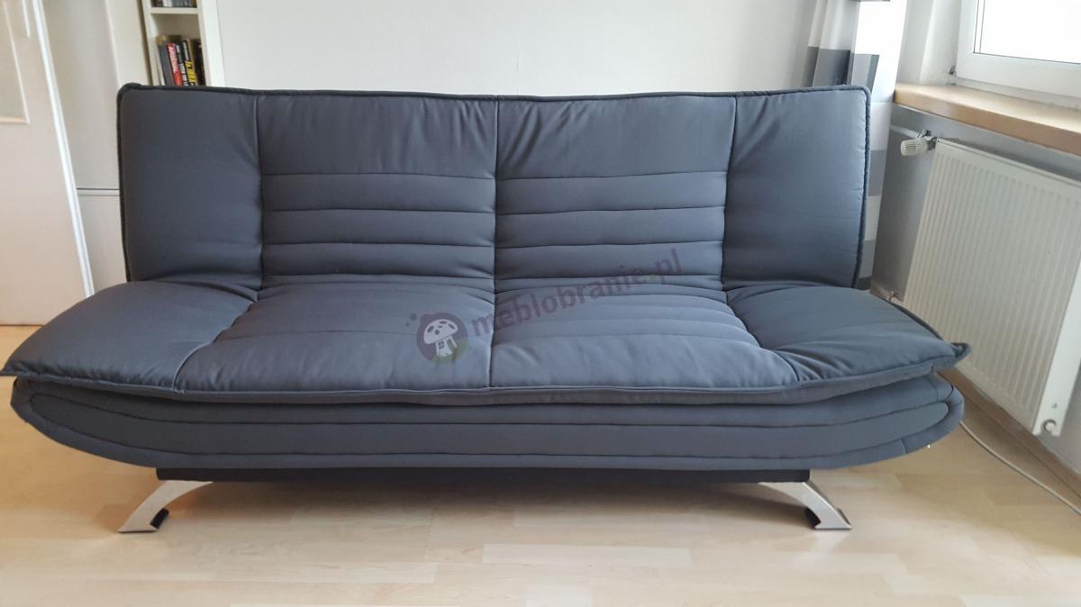 Tania i ładna sofa ogrodowa do salonu szara Actona Faith