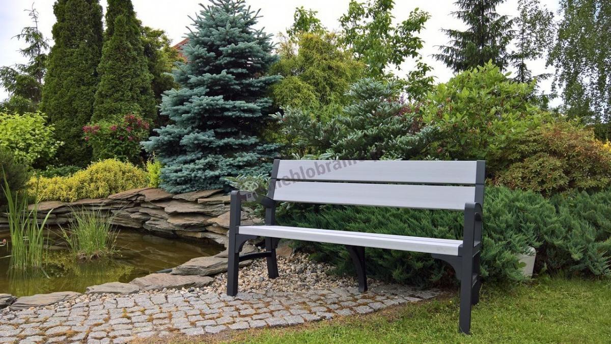 Tania ławka ogrodowa dla 3 osób firmy Keter - Montero WLF