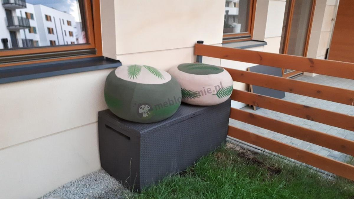 Technorattan Corfu skrzynia ogrodowa marki Keter Curver brązowa