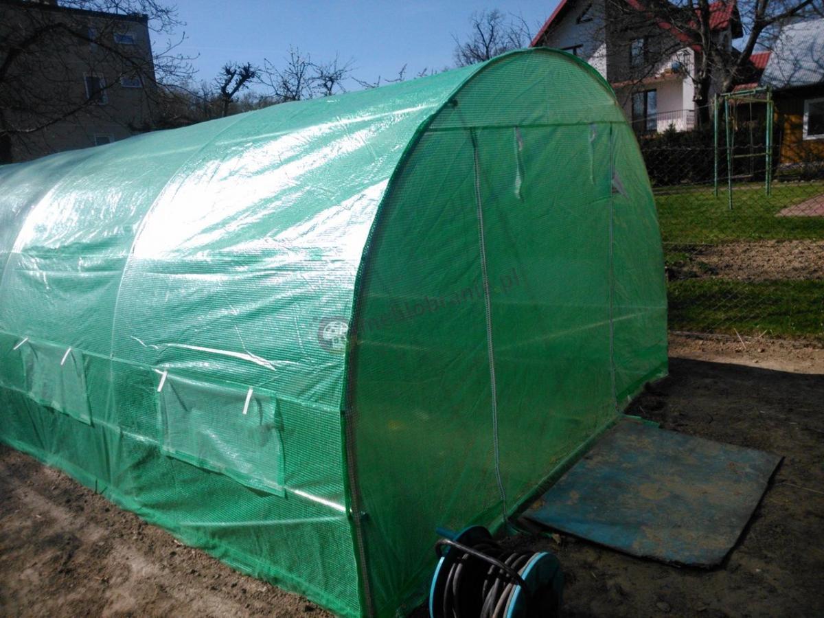 Tunel foliowy do ogrodu o wymiarach 6x3m