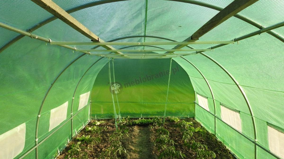 Tunel foliowy ogrodniczy szklarnia do uprawy warzyw