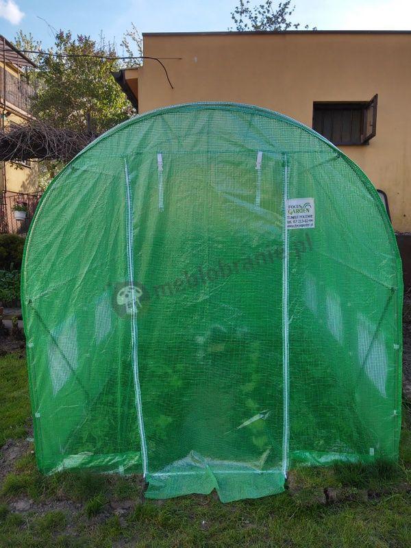 Tunel ogrodniczy foliowy o wymiarach 3x2m
