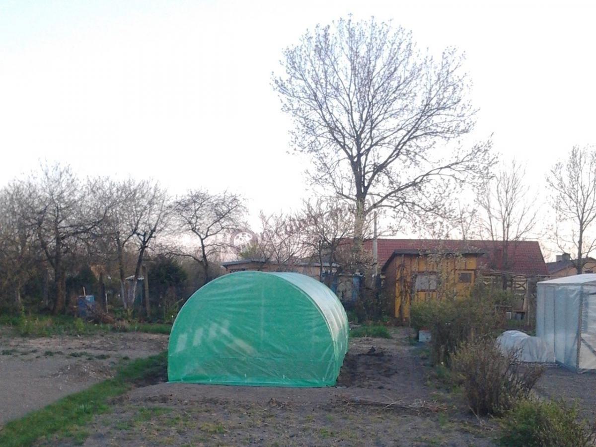 Tunel ogrodniczy metalowy o wymiarach 6x3m