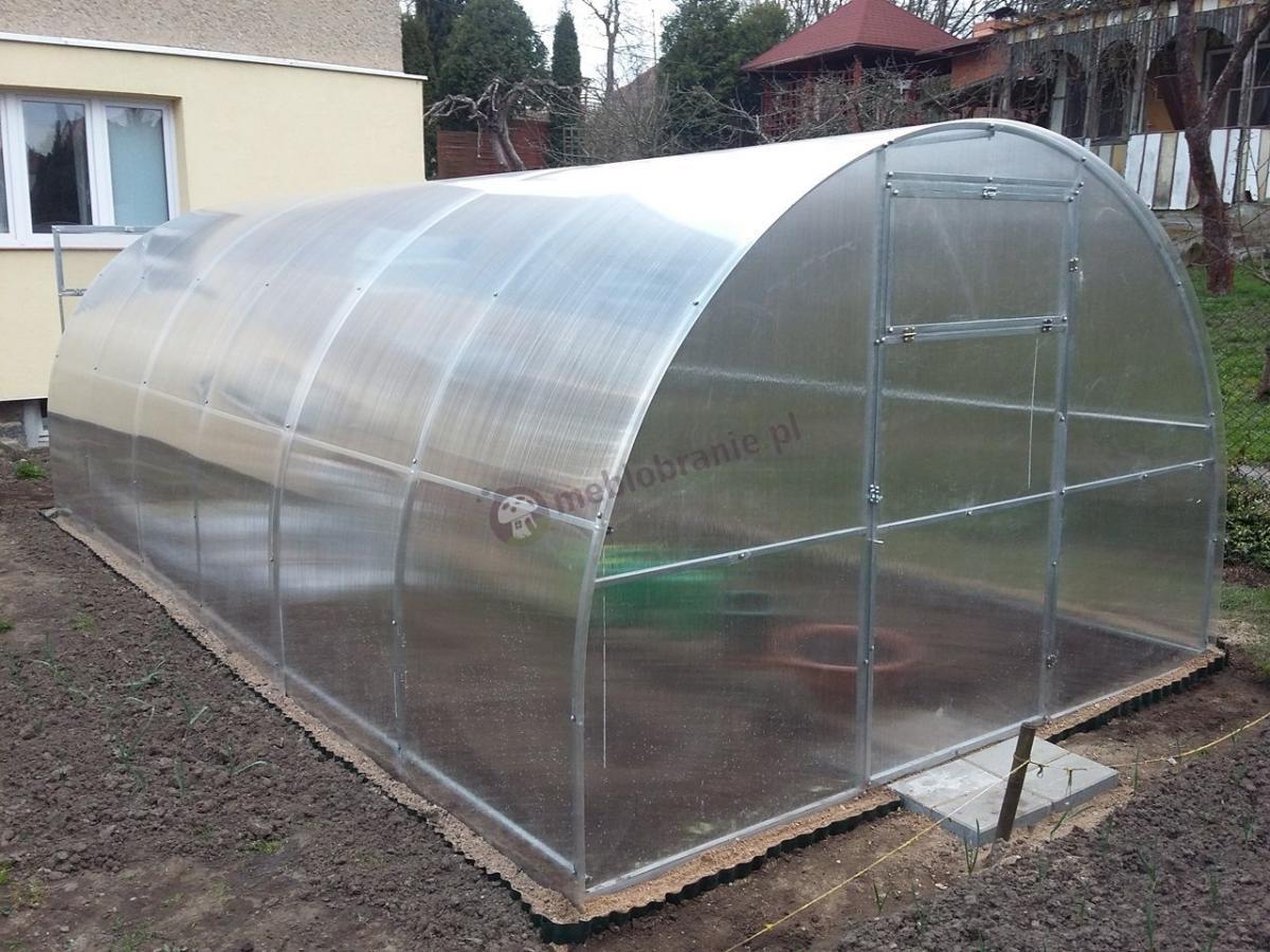 Tunel z poliwęglanu szklarnia ogrodowa Agro Standard