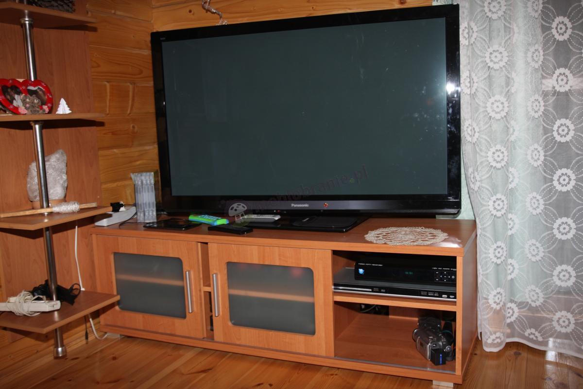Wielofunkcyjna szafka pod telewizor Digital 2 w kolorze olcha