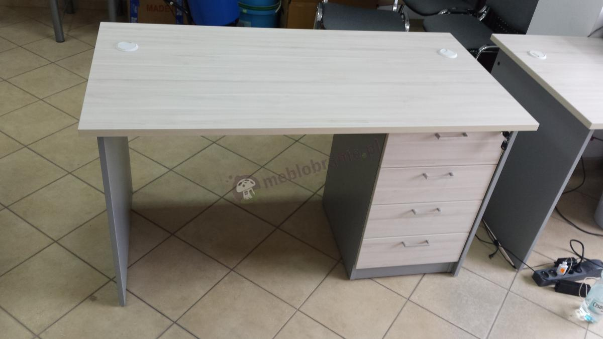 Zestaw biurowy z biurkiem i kontenerem Svenbox Invest VBH073 i VKH26