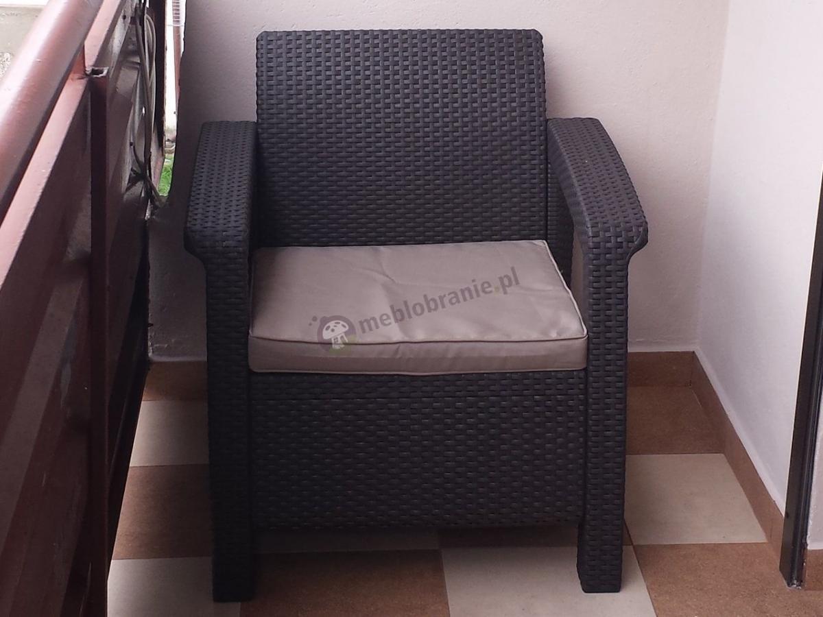 Zestaw Corfu Duo Curver wygodne fotele na balkon