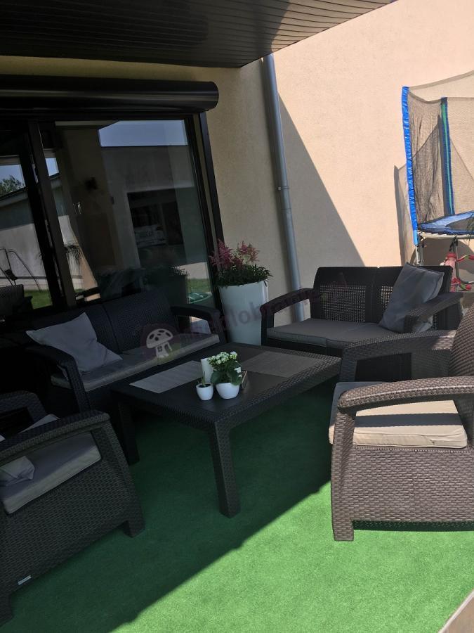 Zestaw Corfu Fiesta Family Curver brązowy