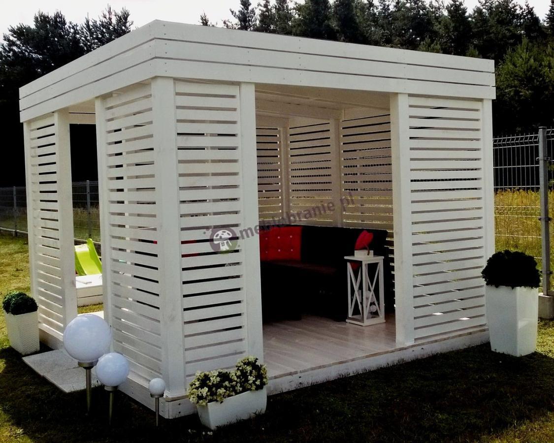 Zestaw Corfu Relax Set narożniki do pawilonów ogrodowych