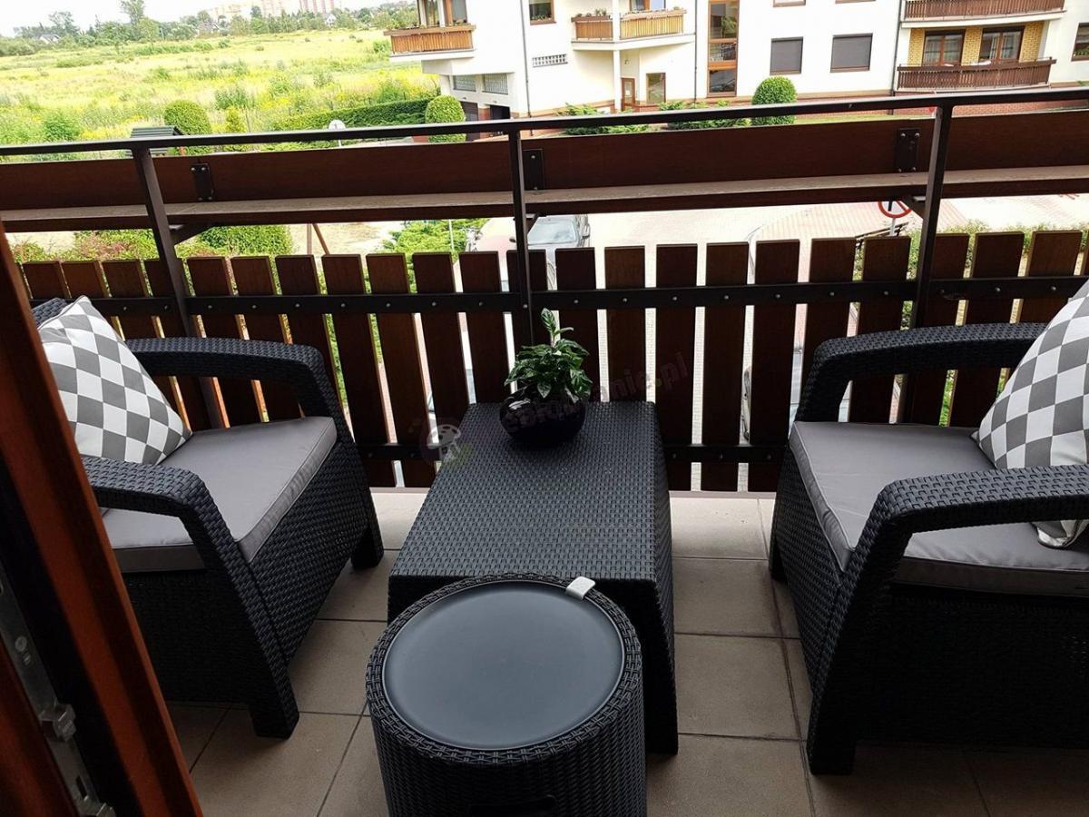 Zestaw mebli balkonowych Corfu Weekend Curver