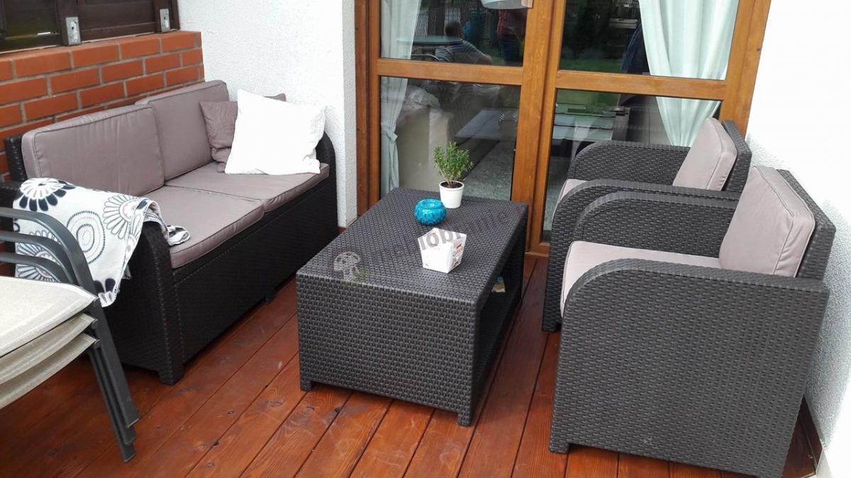Zestaw mebli na balkon Modena Lounge Set