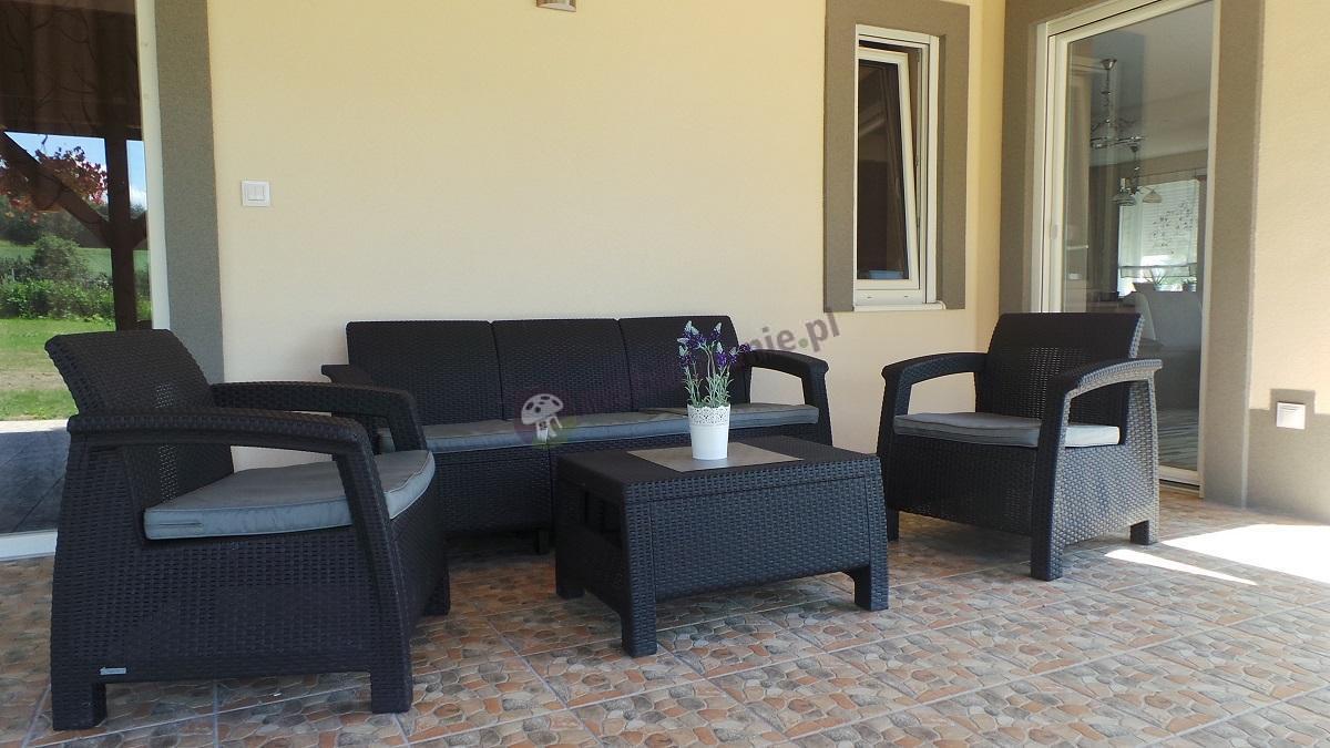 Zestaw mebli ogrodowych Corfu Set Max