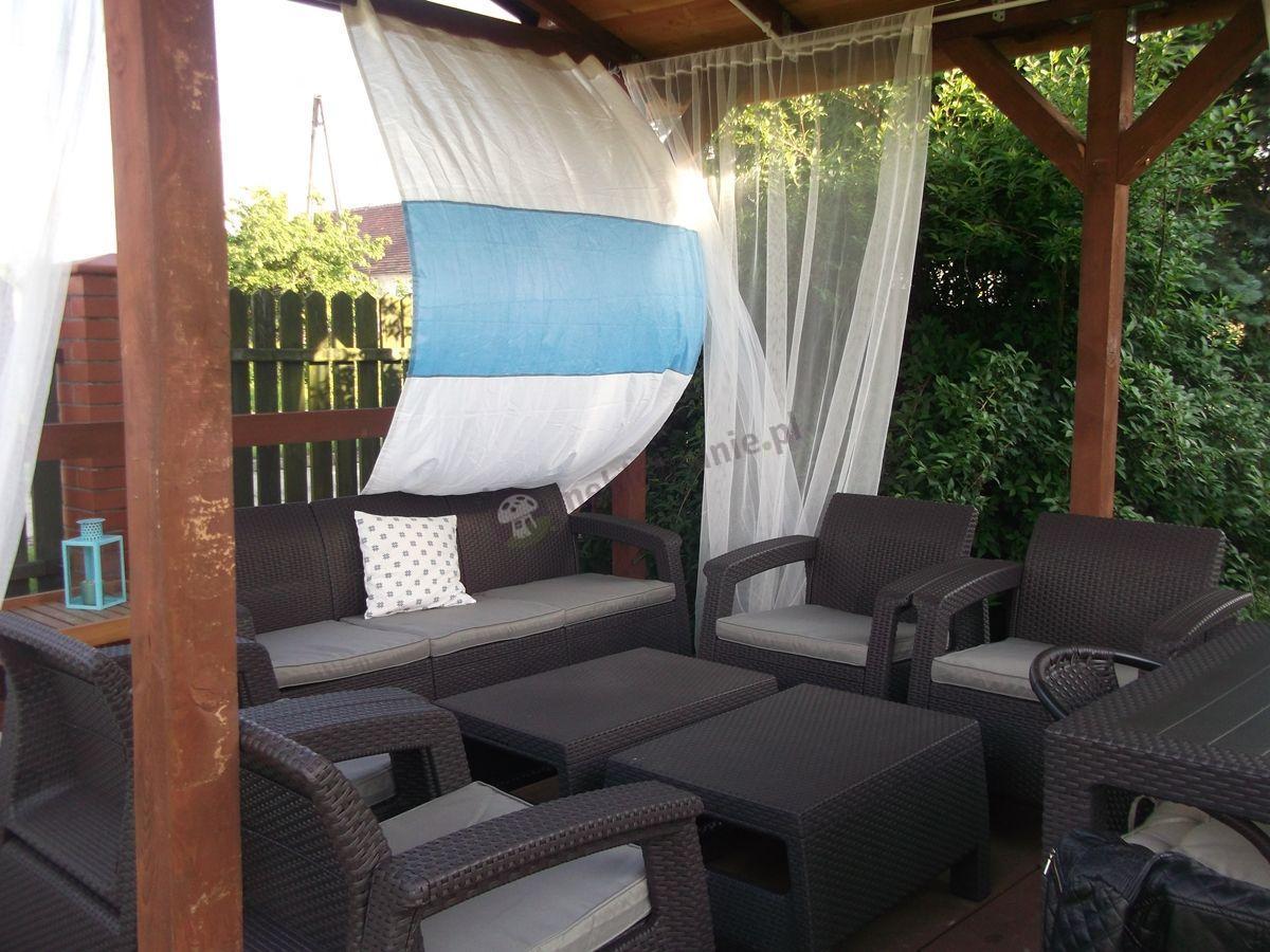 Zestaw mebli ogrodowych Corfu Weekend Curver i Corfu Set Max