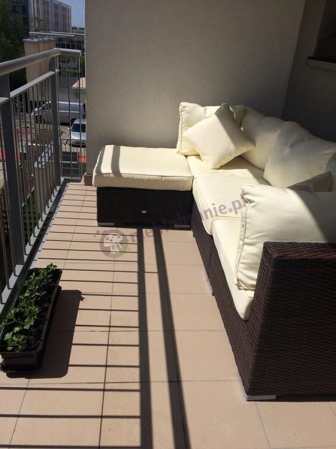Zestaw ogrodowy technorattan meble na balkon Nilamito