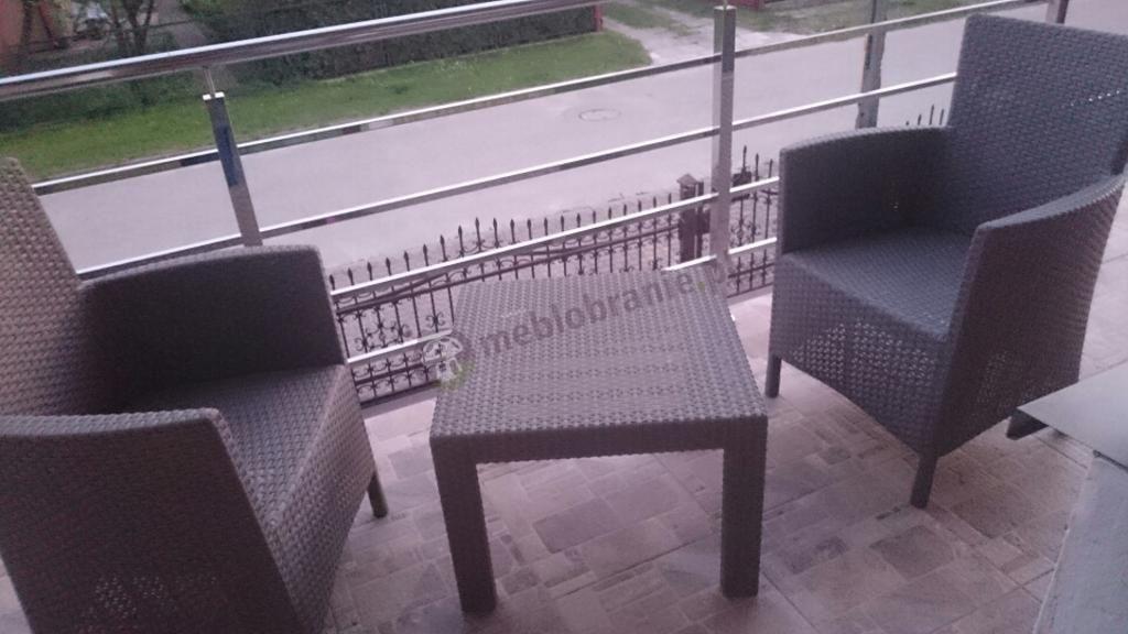 Zestaw Rosario Cappuccino bez poduszek na siedzisko