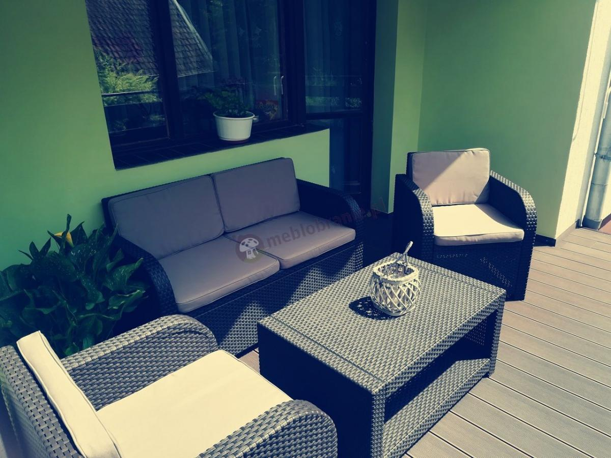 Zestawy wypoczynkowe na balkon Modena Lounge Set