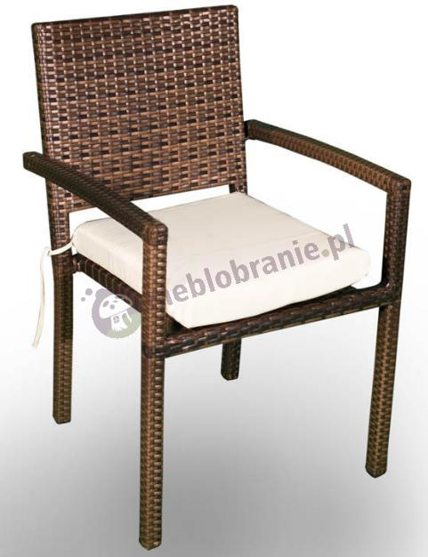 Krzesło ogrodowe z eco-rattanu