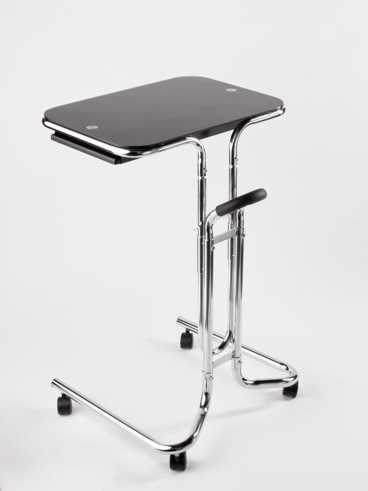 Biurko Komputerowe Szklane Avante Laptop Desk Czarne