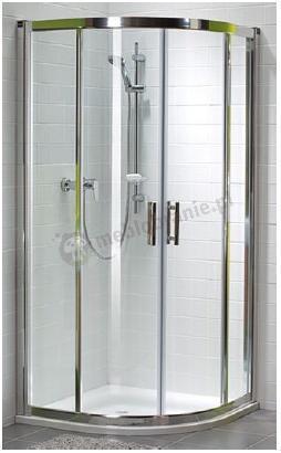 Kabina prysznicowa półokrągła Koło Geo 6 90