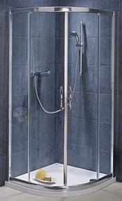 Kabina prysznicowa półokrągła Koło Akcent Plus 90