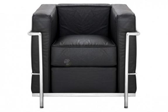 Fotel skórzany LC