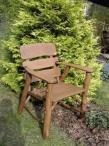 niskie, dębowe krzesło ogrodowe opinie, cena
