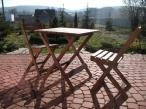 Drewniany Zestaw balkonowy (stół + 2 krzesła) sklep internetowy