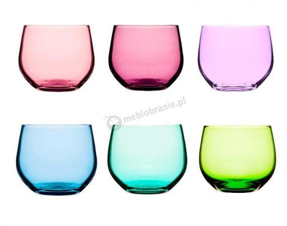 Kolorowe szklaneczki 4szt