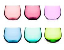 Kolorowe szklaneczki 4szt Spectra