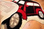 Dywan dziecięcy samochód