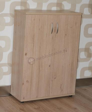 Szafka z drzwiami drewnianymi