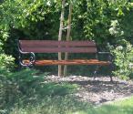 Ławka żeliwna typ wiedeński