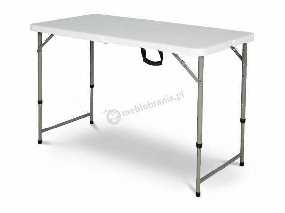 Stół cateringowy prostokątny składany - 122 cm