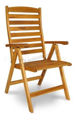 składane krzesła ogrodowe drewniane